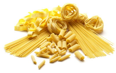Gluten free Pasta with 40% AMN Pea Flour Concentrate