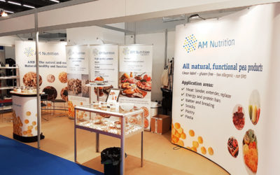 Great participation of AM Nutrition at FI Europe in Frankfurt
