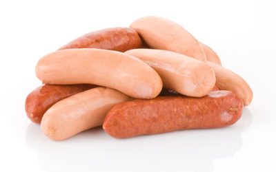 Application test with AM Nutrition's pea starch concentrate in Frankfurters