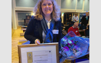 Quality Manager of the Year 2019 awarded to Karin Kvernberg