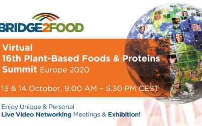 AM Nutrition at Bridge2Food Virtual 16th Plant-Based Foods & Proteins Summit Europe 2020