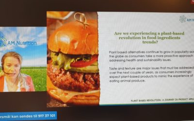 Plant based revolution: A journey in product application