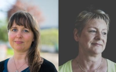 Warm welcome to Anette and Kirsten